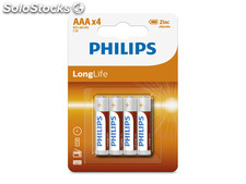 Batterie Philips Longlife R03 Micro AAA (4 St.)