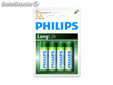 Batterie Philips Longlife R06 Mignon AA (4 St.)