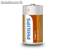 Batterie Philips Longlife R14 Baby C (2 St.)