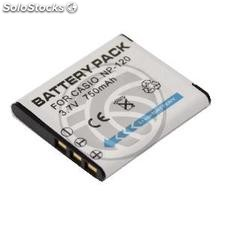 Battery compatible with Casio CNP-120 (BE22)