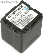 Battery compatible with Panasonic VW-VBG260T (BD24)