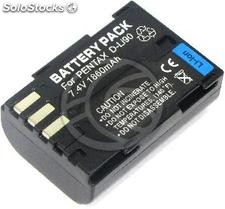 Battery compatible with Pentax D-LI90 (BE52)