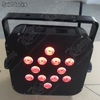 Battery+Wireless Dmx 512 led Flat Par
