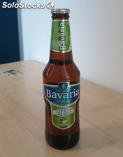 Bavaria Malt 0.0% Non Alcohol Beer 330ml Bottle Alcohol