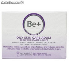 Be+ Cuidado Piel Grasa Adulta Gel Crema Anti-Arrugas Matificante 50 ml.