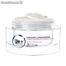 Be+ Luminosidad Crema Protectora Facial spf 15, 50 ml