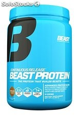 Beast Sports Nutrition, Continuous Release Protein, Chocolate, 2 Pound