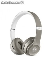 Beats Solo2 On-Ear Headphones (Luxe Edition) - Silver