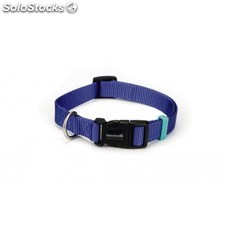 Beeztees New Nylon Collar Azul 26-40 x15mm