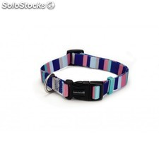 Beeztees New Nylon Collar Rayas 35-50 x20mm