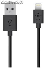 Belkin Cable Lightning 1,2 m negro