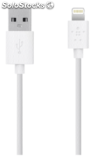 Belkin Cable Lightning 15 cm blanco