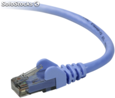 Belkin CAT 5 e cable de red 2,0m UTP azul sin enganche