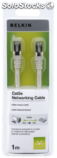 Belkin CAT 5 e cables de red 1,0 m STP hasta 350 Mhz blanco