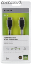Belkin HDMI cable 3,0 m negro