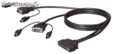 Belkin OmniView Dual-Port PS/2 cable 1,8 m