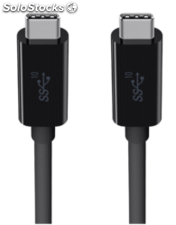 Belkin usb 3.1 SuperSpeed cable usb-c a usb-c 1m negro