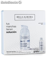 Bella Aurora Pack Anti-manchas Serum Bio10 30ml + Solución Micelar Gratis 150ml