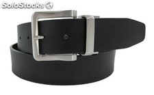 Belt Black / Brown Leather 40Mm