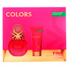 Benetton - colors pink lote 2 pz