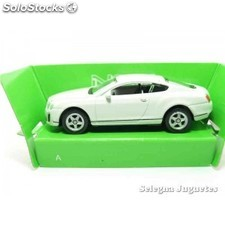 Bentley continental supersports escala 1/60 welly coche metal
