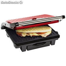 Bestron Grill Panini 1000 w Hot Red ASW113R