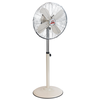 Bestron Ventilador de pie retro 45 cm 50 W blanco crudo AFS45RE