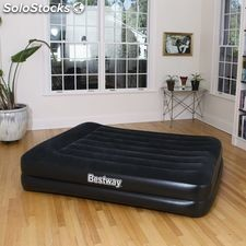Bestway Colchón inflable con bomba incorporada 152x203 cm 67403