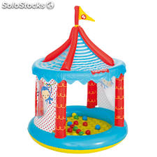 Bestway Piscina de bolas de circo Fisher Price 104x137 cm 93505