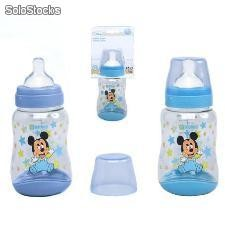 Biberon Caucho 300ml Mickey Mouse Baby