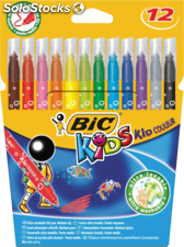 Bic 12 feutres coloriage kid