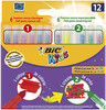 Bic kids 10+2MINI feut colour