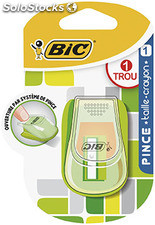 Bic taille crayon pince 2 us.