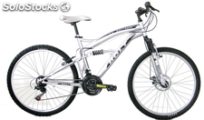 "Bicicleta 26"" Full Suspension Freno Disco 21 velocidades"