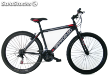 "Bicicleta 27"" MTB Chico Suspension/Del. Negra"