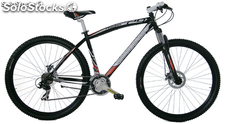 "Bicicleta 29"" MTB Chico Suspension/Del. Negra-Gris"