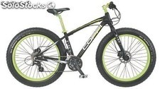 "Bicicleta Coppi 26"" fat bike Sh. Acera"