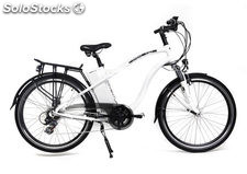 Bicicleta Electrica Adventure color blanco