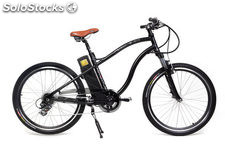 Bicicleta Electrica Adventure color negro