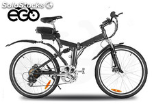 Bicicleta eléctrica chicago plegable off road 250w 26¨ con marchas