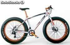 "Bicicleta Frejus 26"" Fat Bike Alum. Frenos Disco Sh. 21 v."