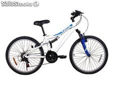 Bicicleta junior mtb full suspension