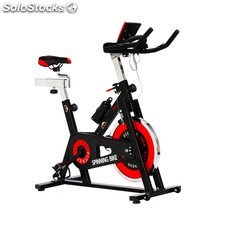 Bicicleta spinning SG24 regulable de 24 kg de disco de inercia.