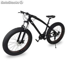 Bicicleta todo terreno de marchas. Fat bike 1