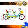Bicyclette tandem TAN01 - Photo 2