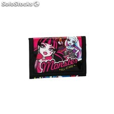 Billetera monster high all stars