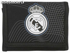 Billetera Real Madrid Black