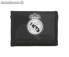 "Billetera real madrid ""black"""