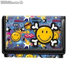 Billetero Velcro Smiley World