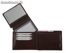 Billfold Brown Vegetable Tanned Cowhide